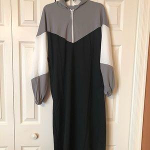 Dresses & Skirts - Maxi Sweatshirt/Hoodie Dress